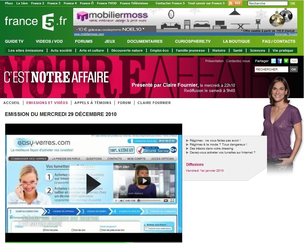 Achat lunettes sur internet for Achat plante sur internet